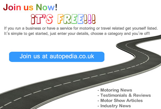 autopedia.co.uk Join Us Now It's FREE!